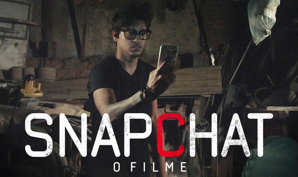 Trailer mostra como seria um filme de terror sobre o Snapchat