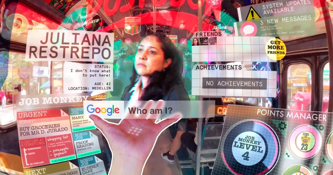 Curta mostra como seria a vida com realidade virtual e gamificação