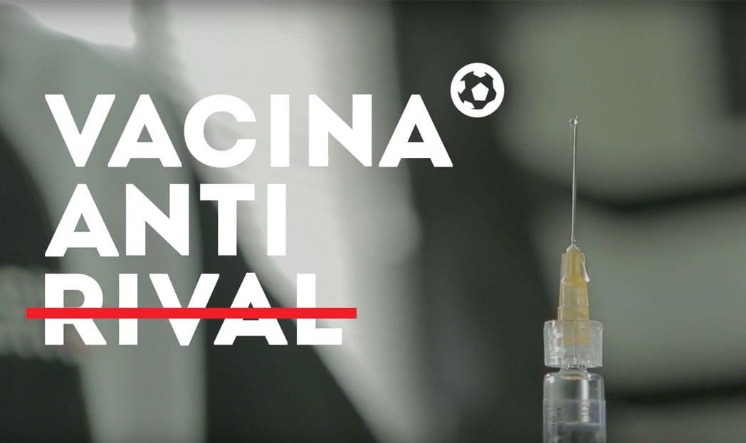 Para incentivar vacinação contra H1N1, Bandsports cria a 'Vacina Antirival'