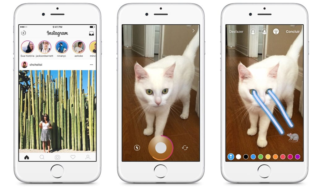 Instagram se inspira no Snapchat e lança as 'Stories'