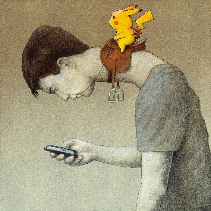 pokemon go vicio