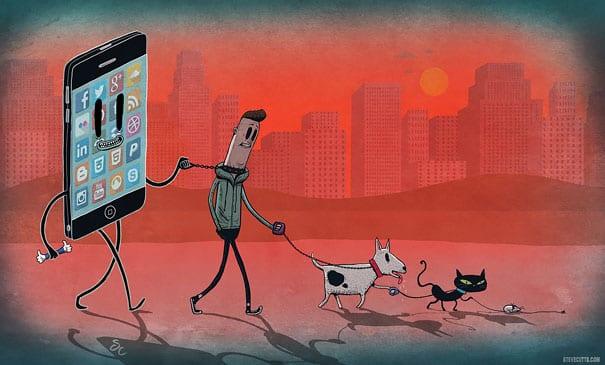 vicio tecnologia ilustracoes (2)