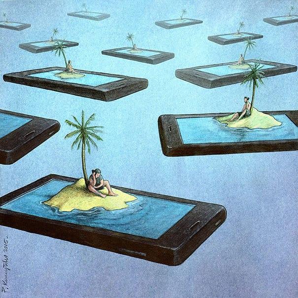 vicio tecnologia ilustracoes (9)