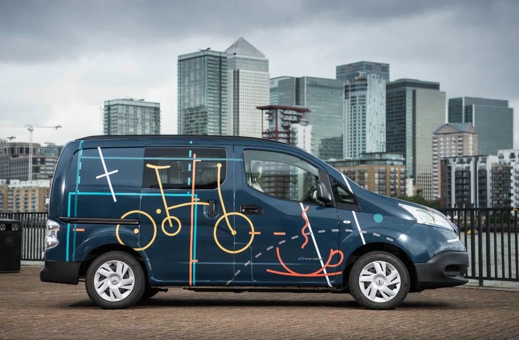 O futuro são escritórios móveis, segunda a Nissan.