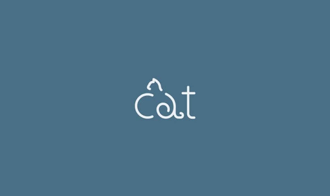 Logotipos minimalistas inspirados em animais