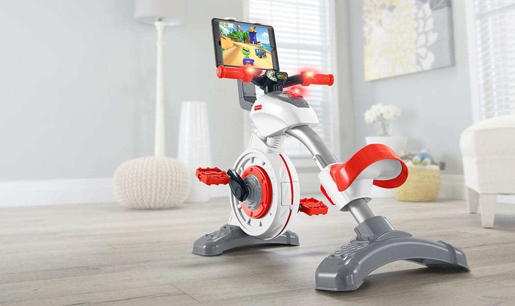 Uma bicicleta ergométrica infantil para combater o sedentarismo