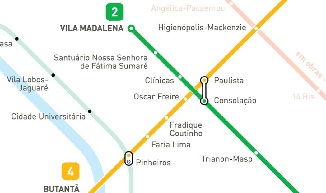 A linguagem gráfica dos mapas de metrô das principais cidades do mundo