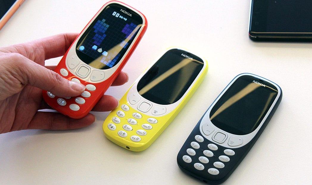 Nokia relança o 'indestrutível' Nokia 3310