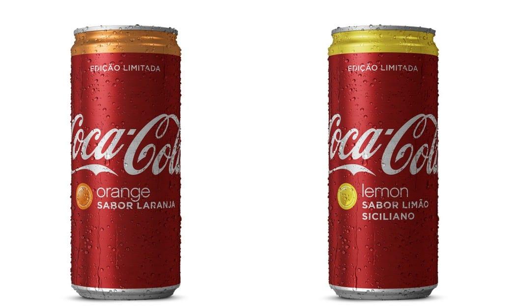 Coca-Cola traz para o Brasil os novos sabores Laranja e Limão Siciliano