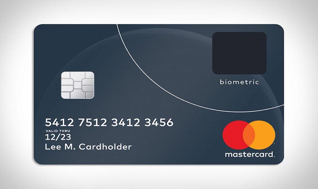 Mastercard lança cartão de crédito com leitor biométrico