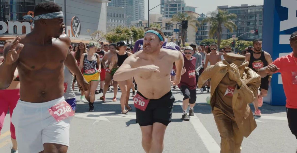 Droga5 faz a primeira maratona em slow motion do mundo