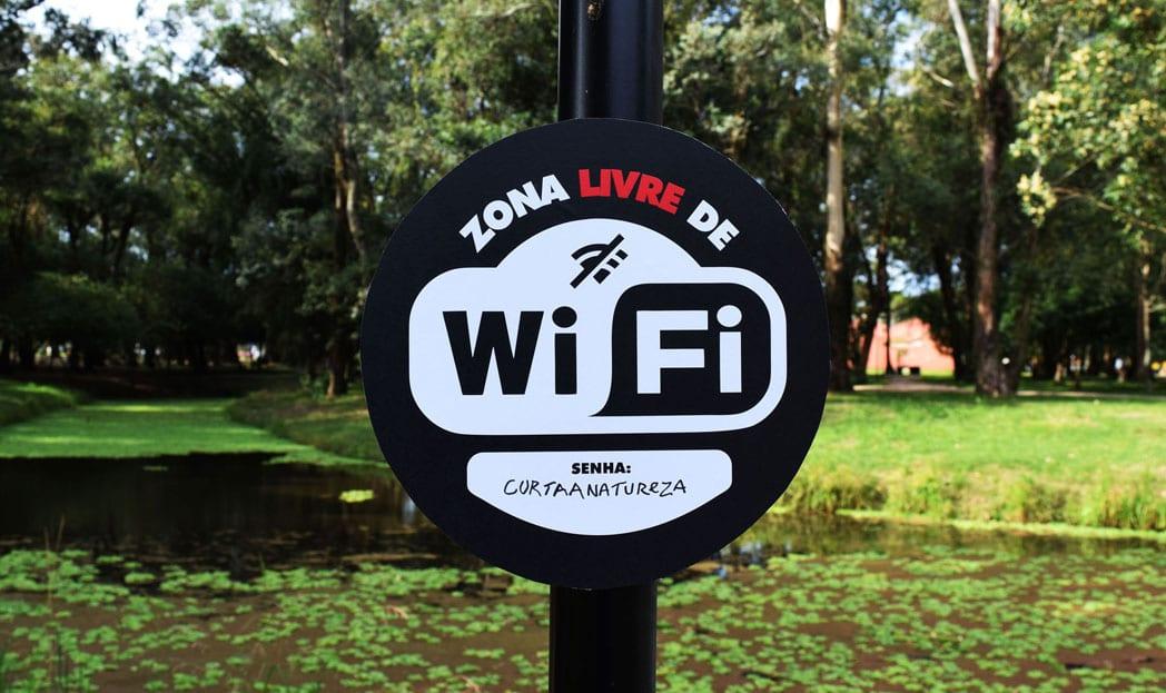 Essa é uma Zona Livre de Wi-Fi, aproveite da melhor forma!