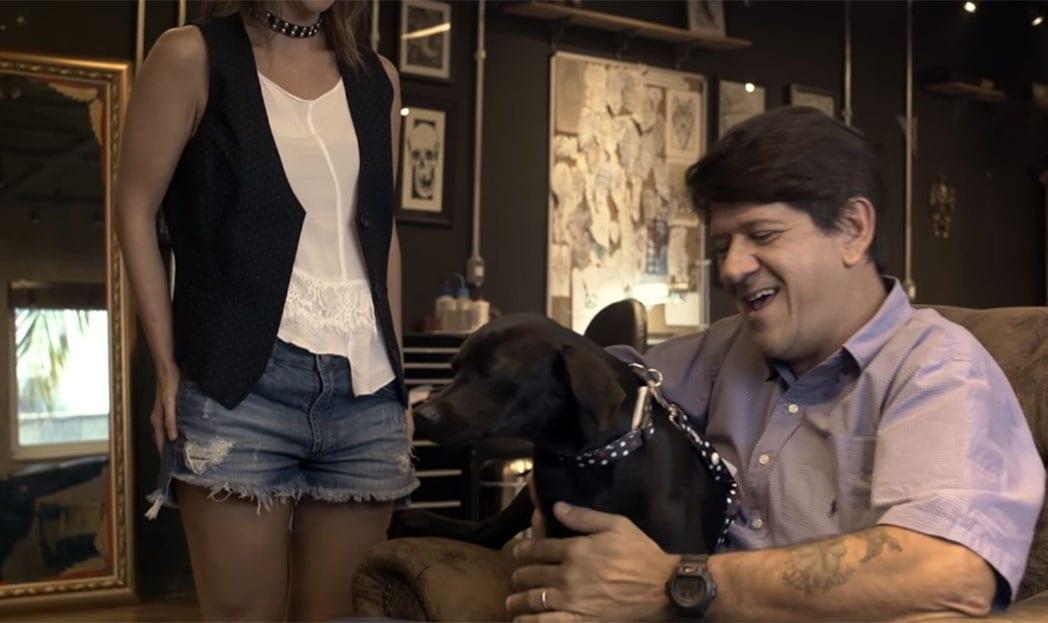 Ação incentiva adoção de cães usando tatuagens de Ex