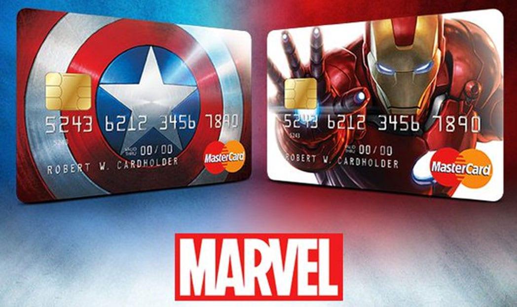 MasterCard cria cartão de crédito para fãs da Marvel