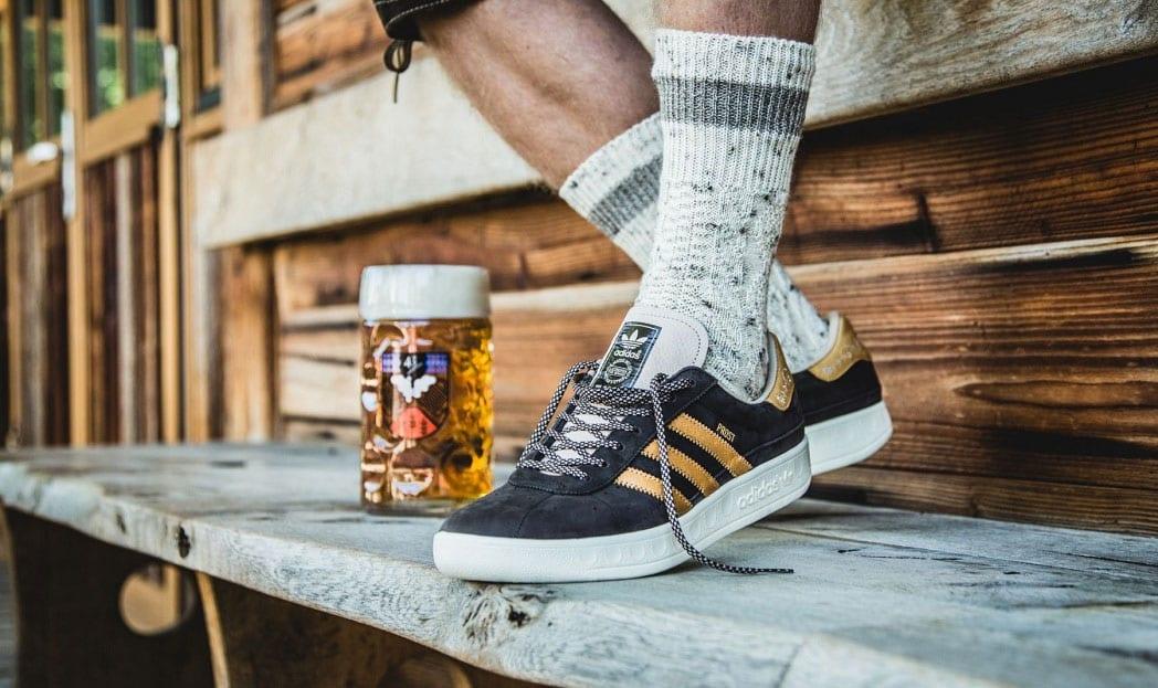 Adidas lança tênis à prova de cerveja (e vômito) para a Oktoberfest