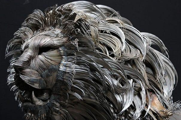 A fantástica escultura de metal de Selçuk Yılmaz