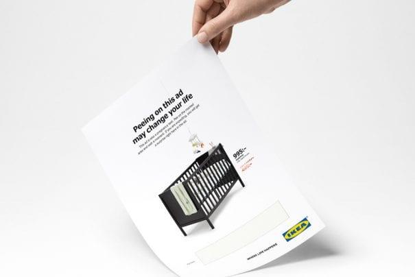 O anúncio da IKEA que serve como teste de gravidez