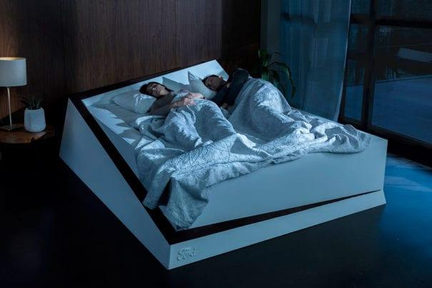 Ford cria cama com tecnologia que evita brigas entre casais