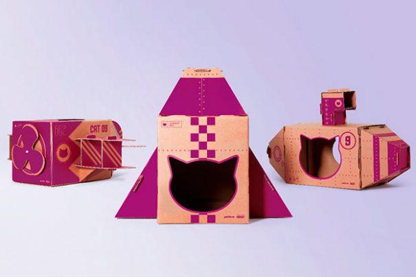 Whiskas cria embalagens para gatos brincarem